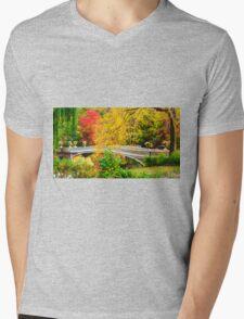Autumn in Central Park, Study 1 Mens V-Neck T-Shirt