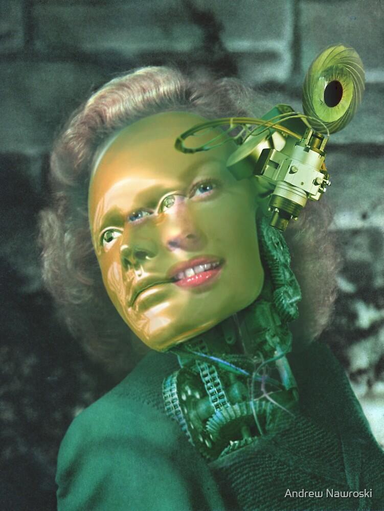 Portrait of a Female Futurist 2. by nawroski .