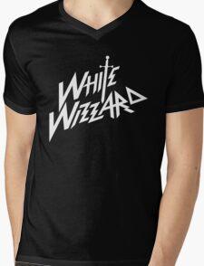 white wizzard band Mens V-Neck T-Shirt