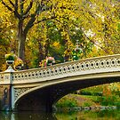 Autumn in Central Park, Study 2 by Randy  LeMoine