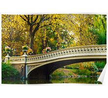 Autumn in Central Park, Study 2 Poster