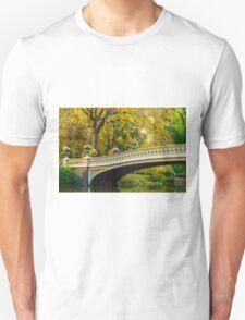 Autumn in Central Park, Study 2 Unisex T-Shirt