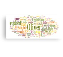 The Adventures of Oliver Twist Canvas Print