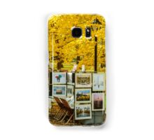 Autumn in Central Park, Study 3 Samsung Galaxy Case/Skin