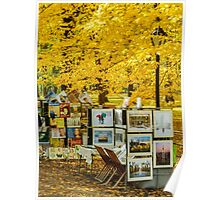 Autumn in Central Park, Study 3 Poster