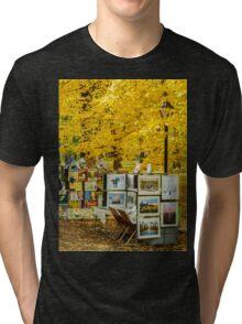 Autumn in Central Park, Study 3 Tri-blend T-Shirt