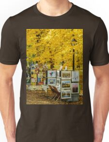 Autumn in Central Park, Study 3 Unisex T-Shirt