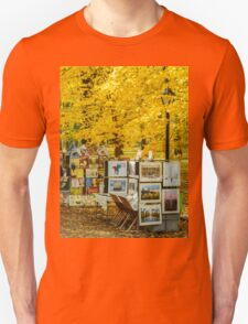 Autumn in Central Park, Study 3 T-Shirt