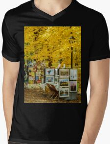 Autumn in Central Park, Study 3 Mens V-Neck T-Shirt