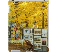 Autumn in Central Park, Study 3 iPad Case/Skin