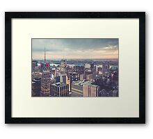 Clearing Storm from Top of the Rock Framed Print