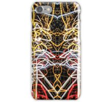 Lightpainting Abstract Symmetry UFA Prints #2 iPhone Case/Skin