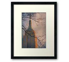 Empire State Building | New York City  Framed Print