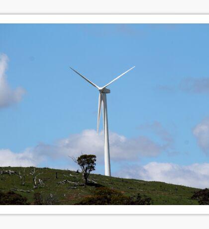 Wind Turbine at Blayney Wind Farm Sticker