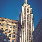 Under the Empire State Building by Randy  LeMoine