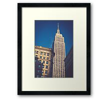Under the Empire State Building Framed Print