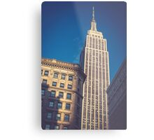 Under the Empire State Building Metal Print