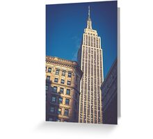Under the Empire State Building Greeting Card