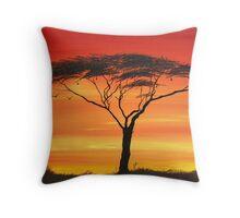 Series of Sunset Throw Pillow
