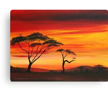 Siries of Sunset# 2 Canvas Print