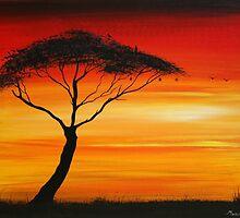 Series of Sunset# 3 by Abumwenye
