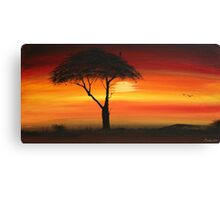 Series of Sunset # 5 Canvas Print