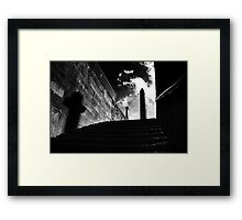 Horror Picture Shadow Dancer Framed Print