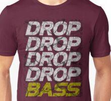 DROP DROP DROP DROP BASS (dark) Unisex T-Shirt