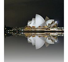 Sydney by Night Photographic Print