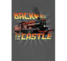 Back to the Castle! Hogwarts Express Photographic Print