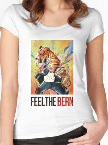 BERNIE SANDERS - FEEL THE BERN! Women's Fitted Scoop T-Shirt