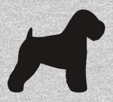 Soft Coated Wheaten Terrier Silhouette(s) Kids Clothes