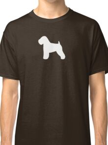 Soft Coated Wheaten Terrier Silhouette(s) Classic T-Shirt