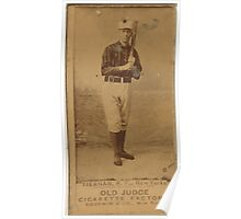 Benjamin K Edwards Collection Mike Tiernan New York Giants baseball card portrait 002 Poster