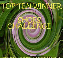 Shoes - Top Ten Winner Banner by quiltmaker
