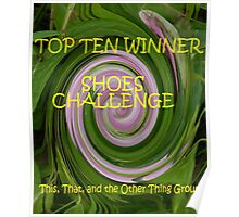 Shoes - Top Ten Winner Banner Poster
