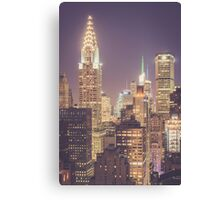Chrysler Building Dusk Canvas Print