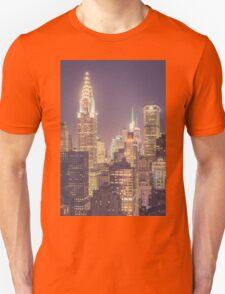 Chrysler Building Dusk T-Shirt