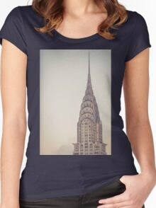 Chrysler Profile Women's Fitted Scoop T-Shirt