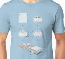 Origami DeLorean Unisex T-Shirt
