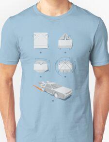 Origami DeLorean T-Shirt
