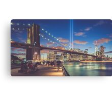 Trubute in Lights Canvas Print