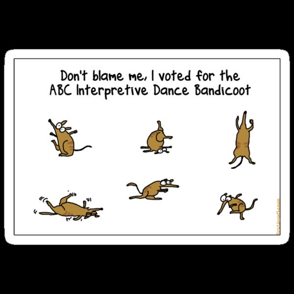 ABC Interpretive Dance Bandicoot by firstdog