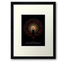 The Rings of Power Framed Print