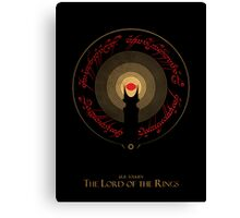 The Rings of Power Canvas Print