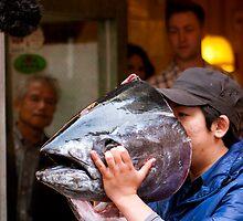 Tuna Man by AdamRussell
