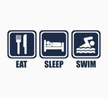 Eat Sleep Swim by DesignMC