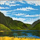 Lake at Glendalough, County Wicklow, Irish Republic by Samuel Ruth