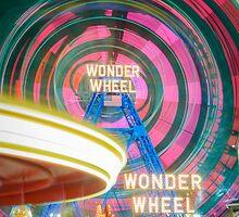 Wonder Wheel by Randy  LeMoine