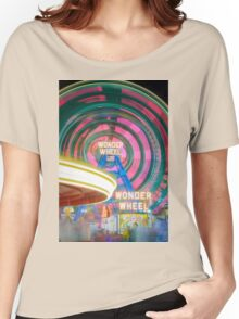 Wonder Wheel Women's Relaxed Fit T-Shirt